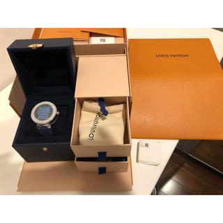 ルイヴィトン(LOUIS VUITTON)のLOUIS VUITTON タンブール ホライゾン 腕時計 ベルト2点セット(腕時計(デジタル))