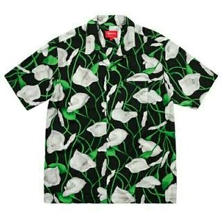 Supreme - 正規品 supreme Lily Rayon Shirt  M