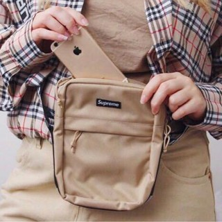 Supreme - 18SS Supreme Shoulder Bag Tan 茶色
