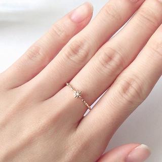 ノジェス(NOJESS)のNOJESSのフラワーダイヤリング 10号(リング(指輪))
