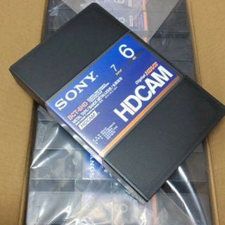 ソニー(SONY)のSONY BCT-6HD HDCAMテープ 新品 10本(その他)