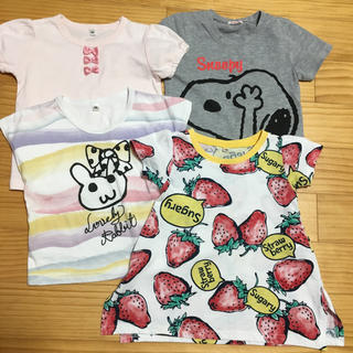 UNIQLO - 95 半袖 Tシャツ 4枚セット まとめ売り