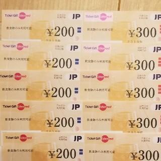 Ticket Gift Edenred 5000円分(フード/ドリンク券)