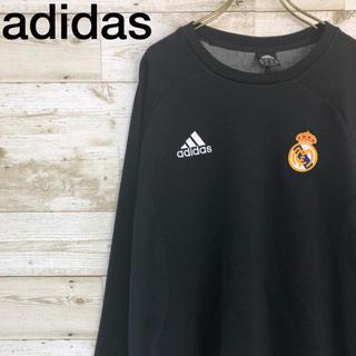 アディダス(adidas)のadidas(アディダス) ロンT ゲームシャツ レアル・マドリード 黒(Tシャツ/カットソー(七分/長袖))