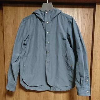 ヤエカ(YAECA)のYAECA 60/40 クロスフードシャツ  サイズM程度 1LDK ロフトマン(マウンテンパーカー)