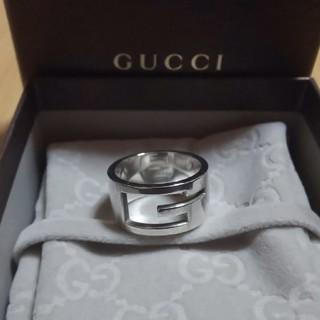 グッチ(Gucci)の25号表記 GUCCI Gリング ブランデッド 指輪 グッチ(リング(指輪))