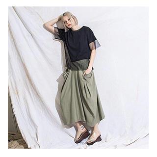 オズモーシス(OSMOSIS)のオズモーシスosmosisドロップポケットスカート(ロングスカート)