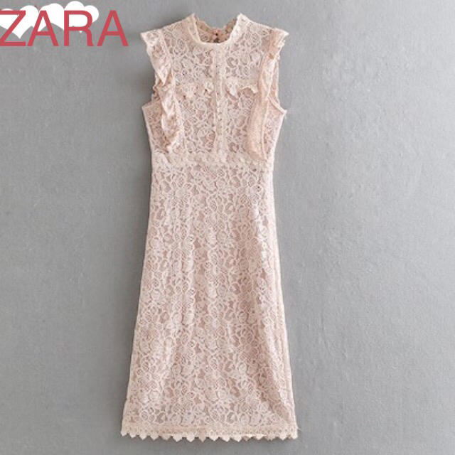 ZARA(ザラ)のZARAザラ★レースワンピ レディースのワンピース(ひざ丈ワンピース)の商品写真