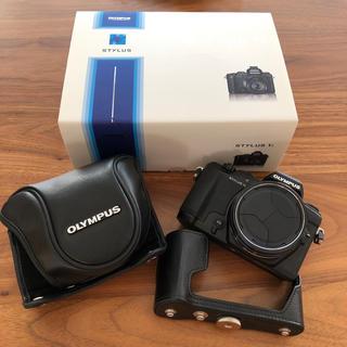 OLYMPUS - 純正カバー付き美品!stylus1s オリンパス OLYMPUS デジタルカメラ