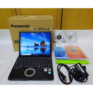 Panasonic - ブラックモデル SSD 256GB レッツノート CF-R8 無線 Win10