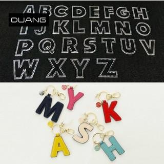 レザークラフト型紙 アクリル製 アルファベット 26枚セット ハンドメイド材料