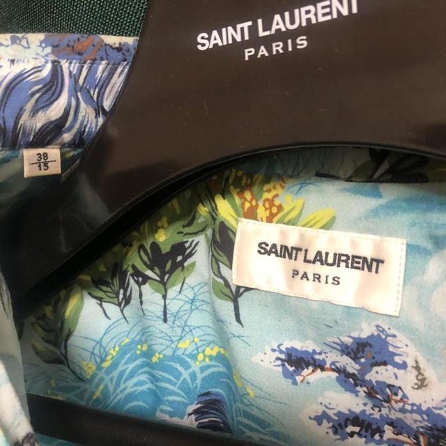 Saint Laurent(サンローラン)のSaint Laurent Paris 16ss アロハ 38 メンズのトップス(シャツ)の商品写真