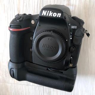 Nikon - Nikon ニコン D810 ボディ + 互換 バッテリーグリップ 【美品】