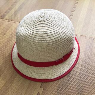 ザラ(ZARA)の美品☆ZARABaby☆リボン付き帽子☆麦わら帽子ストローハット(帽子)