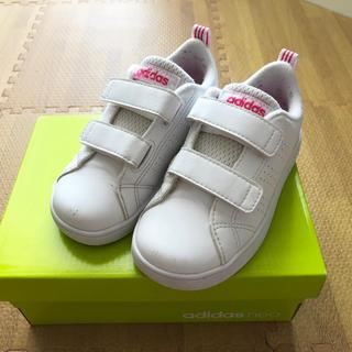 アディダス(adidas)の美品☆adidas neoアディダスネオ☆キッズスニーカー14.5cm15cm(スニーカー)
