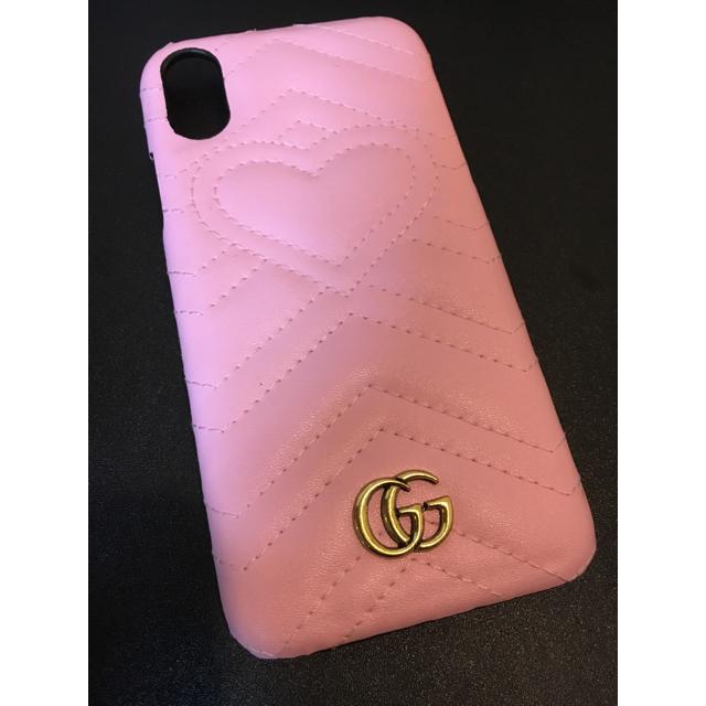 グッチ iphonexs ケース メンズ / Gucci - 【即購入禁止です】GUCCI ピンク iPhoneX/XSの通販 by yama's shop|グッチならラクマ
