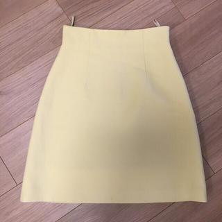 ミュウミュウ(miumiu)の最終 ミュウミュウ miumiu スカート  38(ひざ丈スカート)
