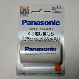 Panasonic - エボルタ セット 単1