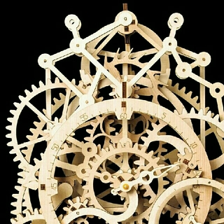 機械時計ファンに 究極のホビー 手作り木製機械式時計キット