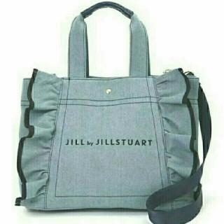 JILL by JILLSTUART - ジルバイジルスチュアートフリルキャンバストートバッグ
