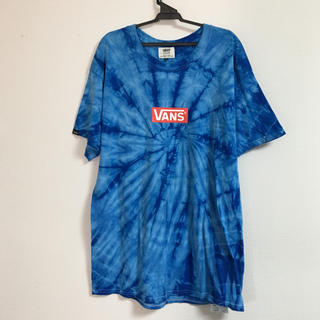 VANS - バンズ タイダイ柄 美品 Tシャツ                    ナイキ