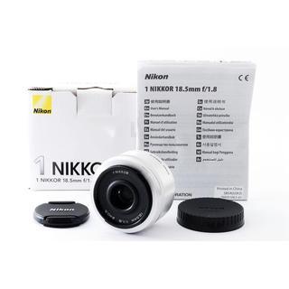 Nikon - ☆ボケ感を楽しめる大人気単焦点☆ニコン 1 18.5mm F1.8 シルバー