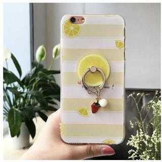 フルーツ レモン iPhone8 iPhone7 ケース