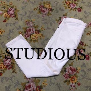 STUDIOUS - ★STUDIOUS★ 白パン スキニー