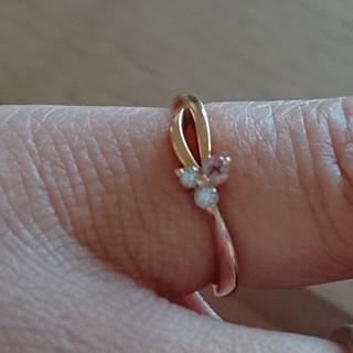 ヨンドシー(4℃)の専用4℃ピンキーリング(リング(指輪))