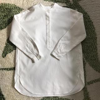 ムジルシリョウヒン(MUJI (無印良品))の無印良品 新疆綿二重織りチュニック 2019S/S(チュニック)