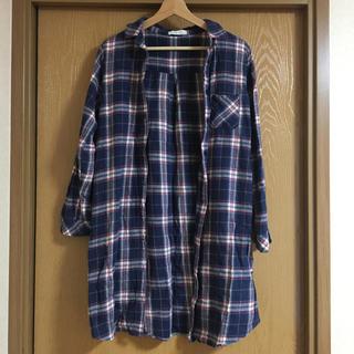 f80b36fa80d91 セポ(CEPO)のcepo ロングチェックシャツ(シャツ ブラウス(長袖