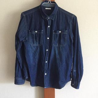 ジーユー(GU)のGU デニムシャツ 150(ジャケット/上着)