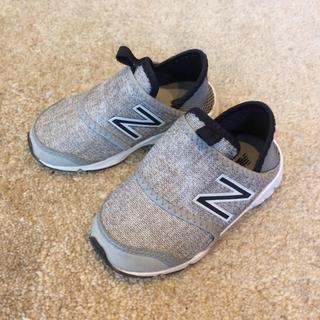New Balance - ニューバランス キッズ14.5センチ グレー