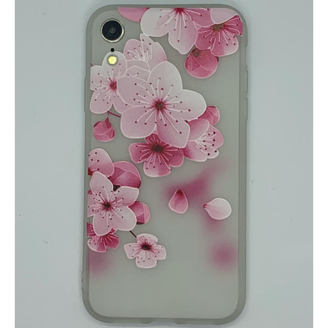 iphone xr ケース 便利 / iPhoneXR用 3D花柄ソフトケース ホワイト-Bの通販 by WJSHOP|ラクマ