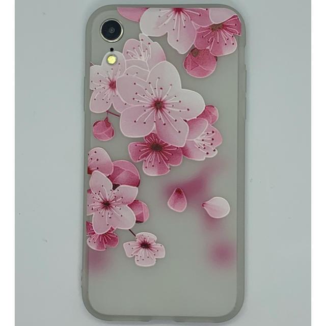 iphone7 の ケース に iphone8 | iPhoneXR用 3D花柄ソフトケース ホワイト-Bの通販 by WJSHOP|ラクマ