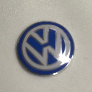 フォルクスワーゲン(Volkswagen)の新品VW フォルクスワーゲンのエンブレムシール14mm 2枚セット(車内アクセサリ)