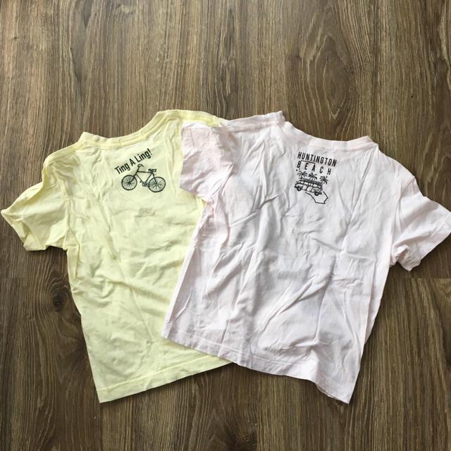 THE SHOP TK(ザショップティーケー)のTHE SHOP TK Tシャツ 120㎝ 2枚セット キッズ/ベビー/マタニティのキッズ服 男の子用(90cm~)(Tシャツ/カットソー)の商品写真