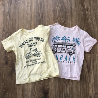 THE SHOP TK - THE SHOP TK Tシャツ 120㎝ 2枚セット