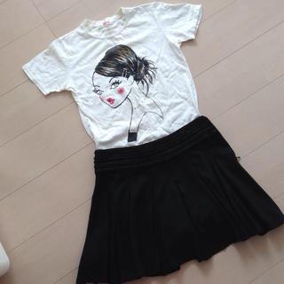 イリーデ(Ra Iride)のLa iride 女の子の柄のTシャツ(Tシャツ(半袖/袖なし))