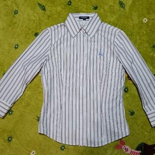 c1974361efa8 バーバリー(BURBERRY)のバーバリーロンドン 七分袖シャツ 36(シャツ/ブラウス