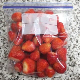 完熟いちご 果物 無農薬 冷凍 1㎏