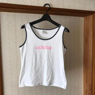 アディダス(adidas)のadidas ランニングシャツ (ウェア)