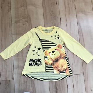 シマムラ(しまむら)のしまむら110cmチュニックTシャツ(Tシャツ/カットソー)