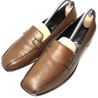 プラダ(PRADA)の【PRADA】★美品★ プラダ ローファー 36.0サイズ 革靴 23.0cm(ローファー/革靴)