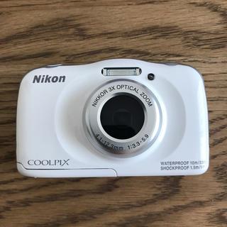 Nikon - NIKON coolpix s33 水中カメラ