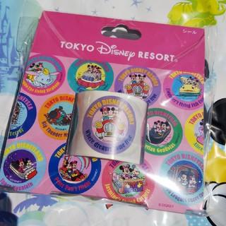 Disney - ディズニー   レトロシリーズ    シール   アトラクション   ミッキー
