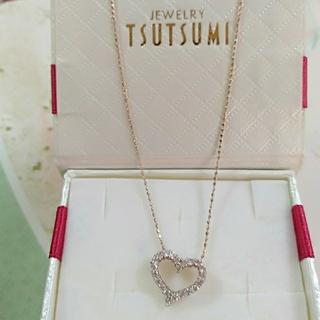 K10 金ダイヤモンドネックレス