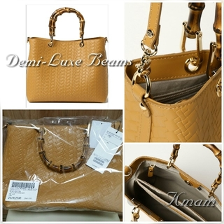 Demi-Luxe BEAMS - 【Demi-LuxeBEAMS】新品Gianni Notaroイタリア製bag