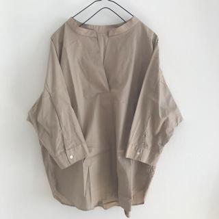 ジーユー(GU)のスキッパーシャツ L(シャツ/ブラウス(長袖/七分))