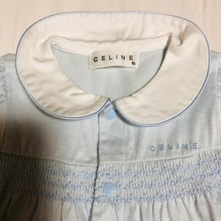 セリーヌ(celine)のセリーヌ 80cm ロンパース ブルー(ロンパース)